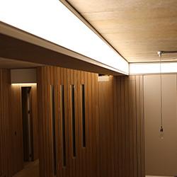 Chelsea Apartment Bespoke light beam
