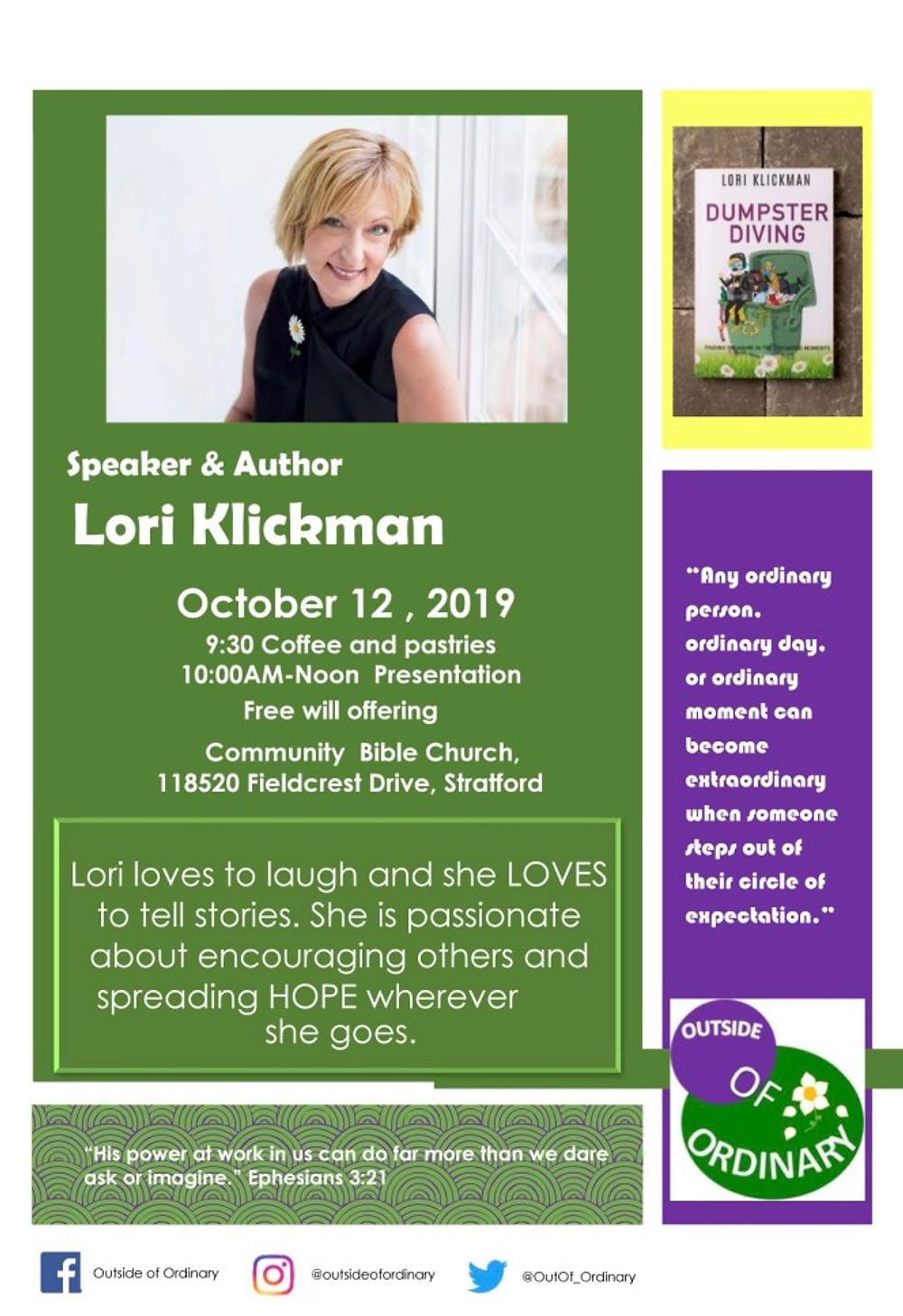 Lori Klickman flyer 2