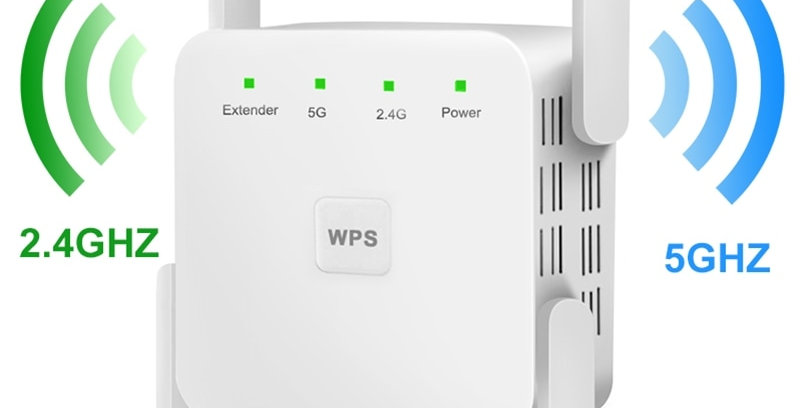 WiFi Extender 2.4G 5G WiFi Booster Amp 5ghz Wi Fi S Repeater WiFi 300Mbps
