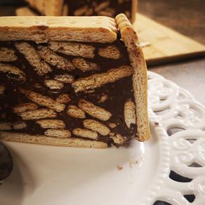 עוגת בסקוויטים