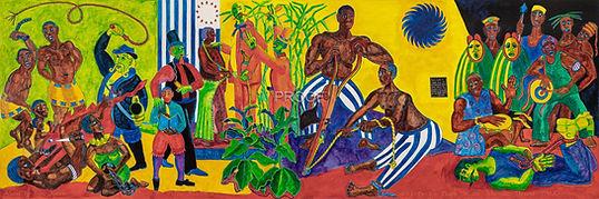 Mural - SAM KERSON - URR - Panel 1 of 2