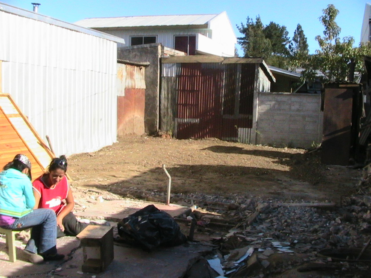 Desarme de viviendas deterioradas