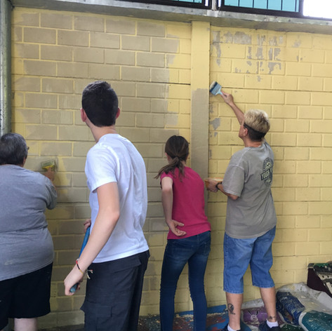 Painting our Church