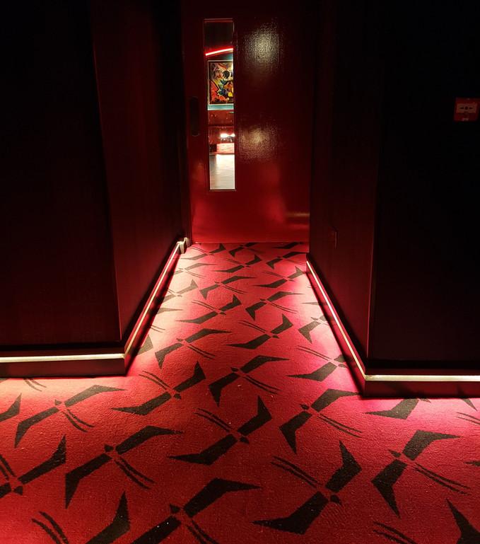 The Garden Cinema Corridor