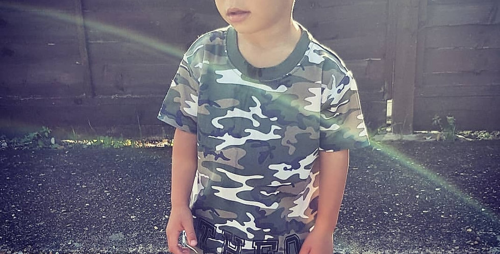 Camo personalised T-shirt