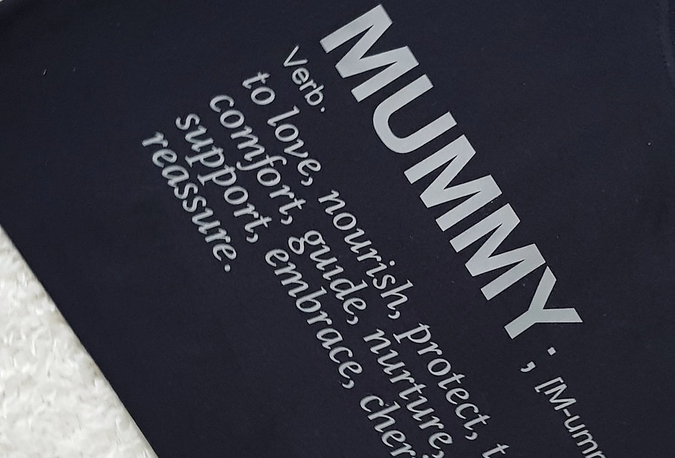 Mummy meaning tee