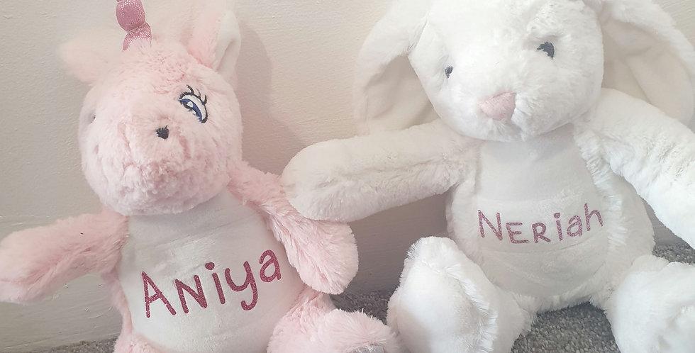 Mini personalised teddy