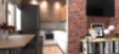 Кирпичные стены и элементы стиля лофт выгодно подчеркнут вашу индивидуальность, отличное решение для
