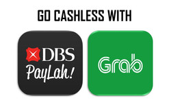 Go cashless with PayLah! and Grabpay
