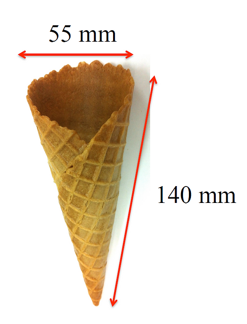 Waffle Cone - Type D (200 pcs)