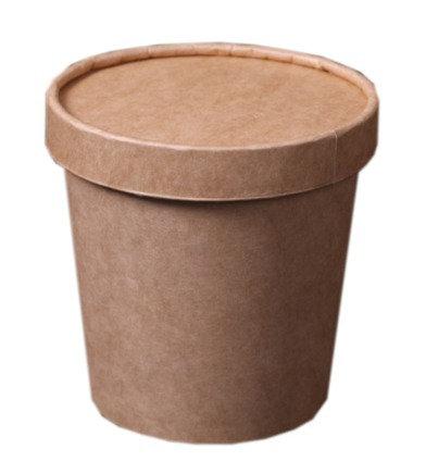 1 Pint Kraft Paper Tub (500 pcs)