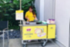 Traditional Ice Cream Cart, Ice Cream Live Station