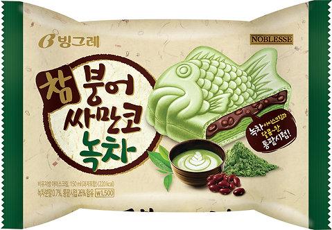 Binggrae Samanco Green Tea with Red Bean