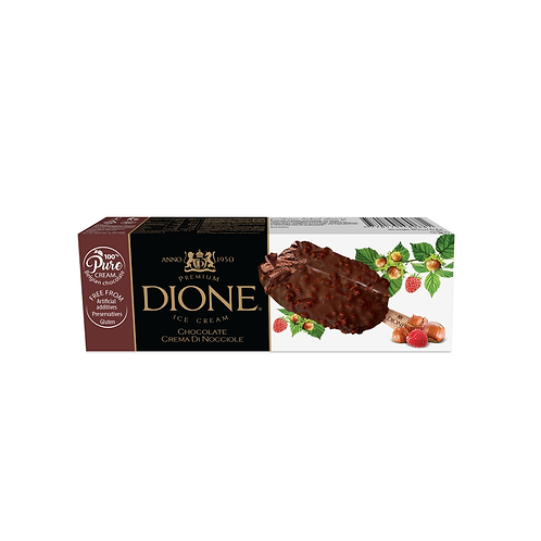 DIONE Chocolate Crema Di Nocciole Stick (20pc x 85ml)