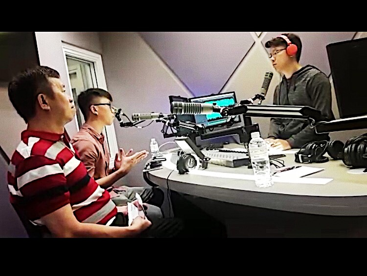 Radio interview with 96.3 FM