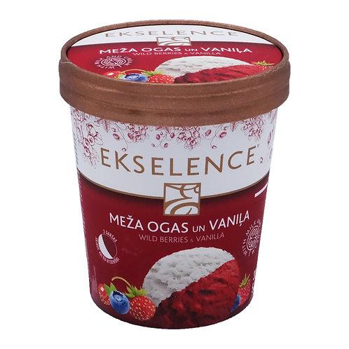 Ekselence Wild Berries Sorbet with Vanilla Pint (2 pints x 300g)
