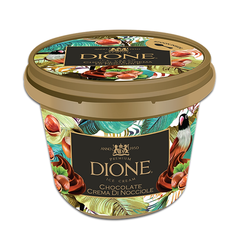 DIONE Chocolate Crema Di Nocciole Cup (16pc x 100ml)