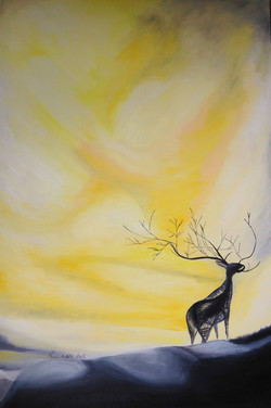 Sunday deer dreaming - 2