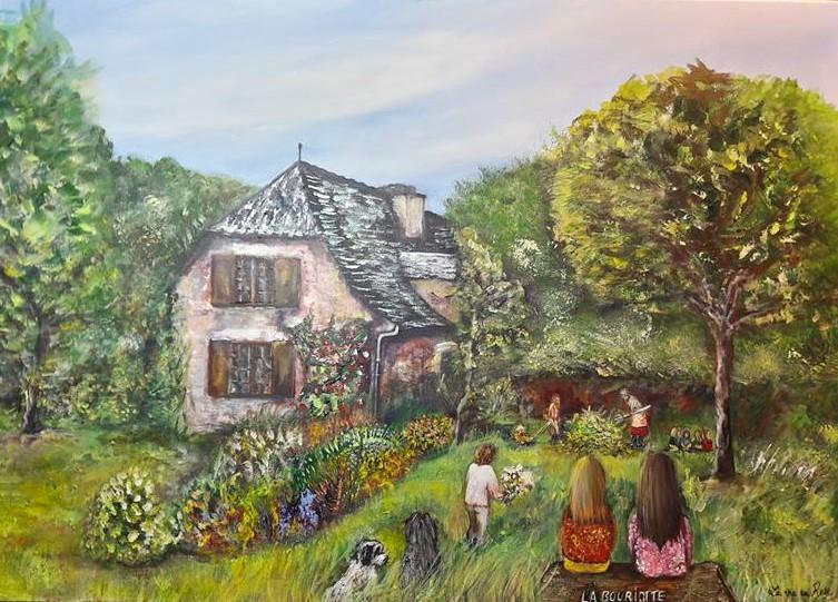 Maison d'enfance en Aveyron