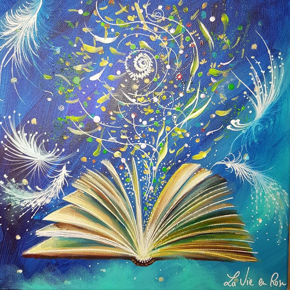 """"""" Le livre enchanté """""""