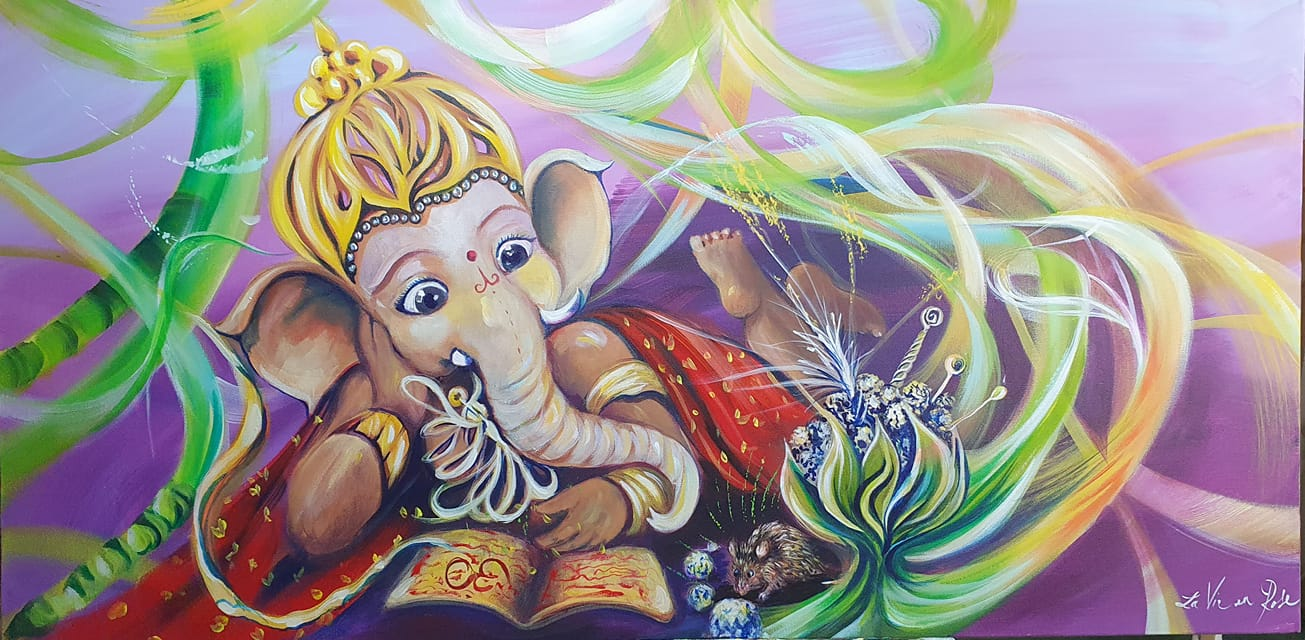 """ Ganesh : La Contemplation """