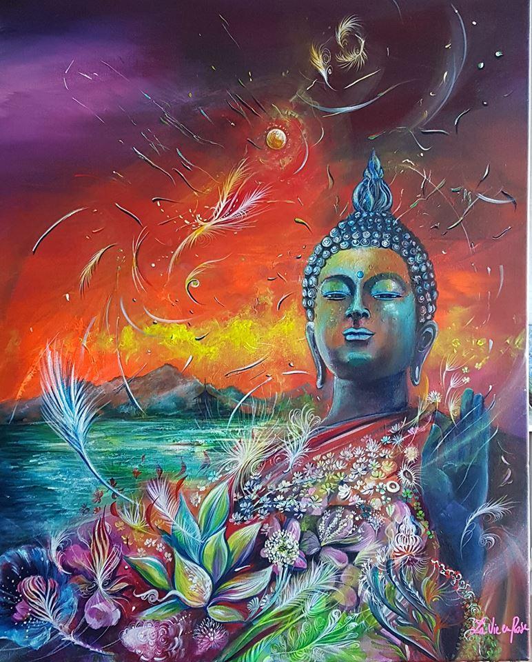 """"""" Les offrandes à Bouddha"""""""