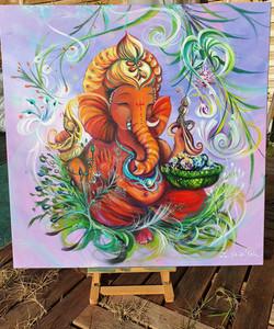 """ Ganesh : Petit frère """