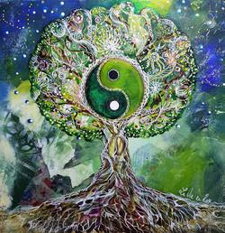 Arbre de Vie Yin et Yang