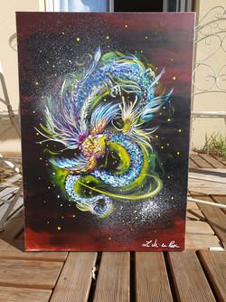 """ Phoenix et Dragon """