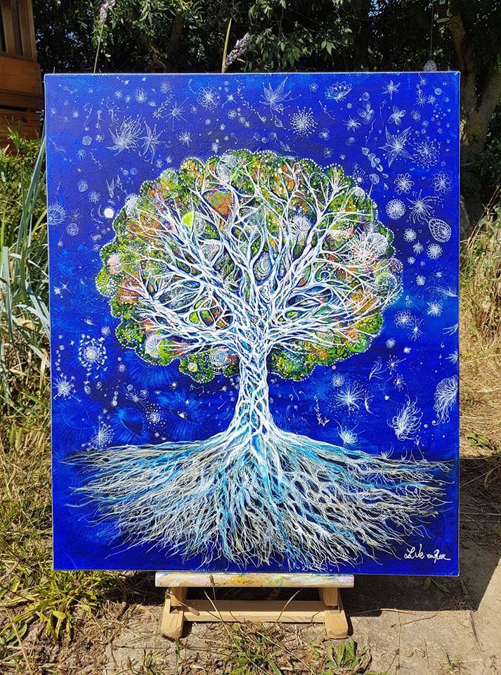 La Magie des lumières, l'arbre de Vi