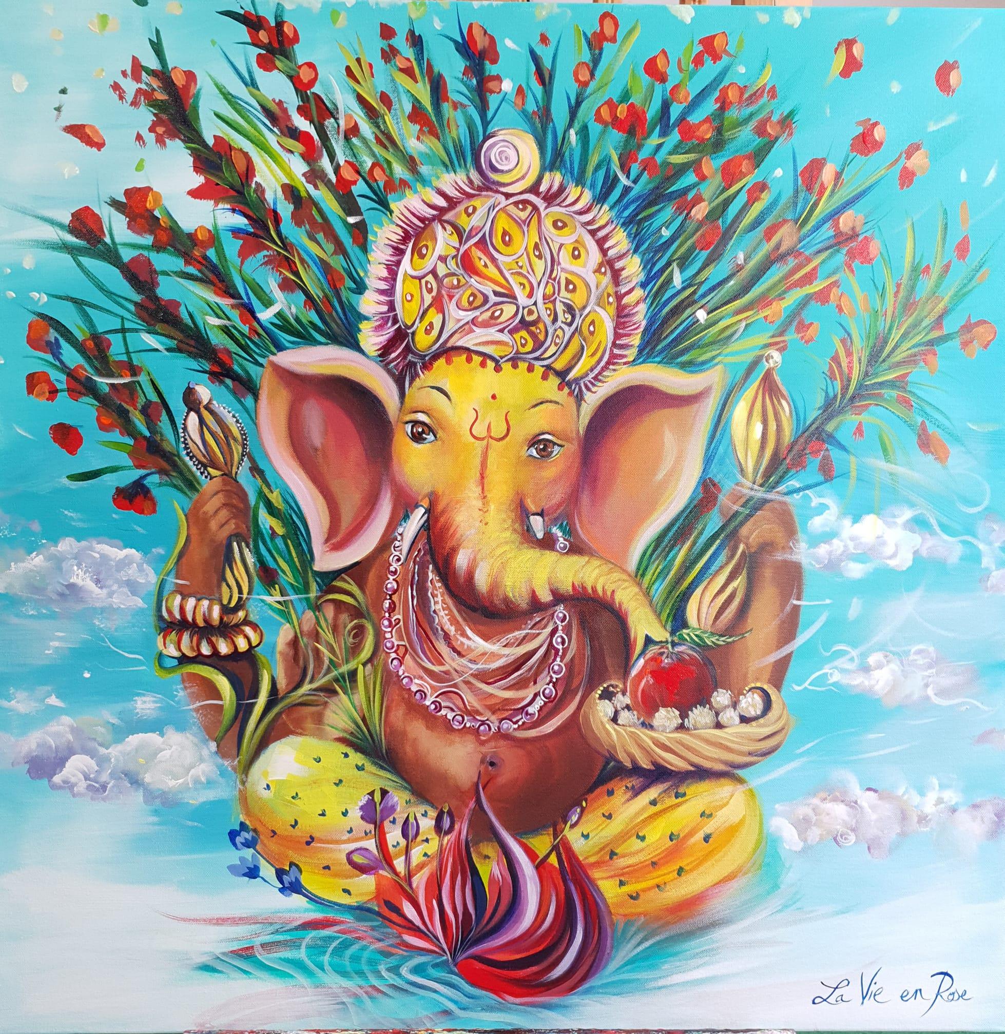 """"""" Ganesh : Les mondes célestes """""""