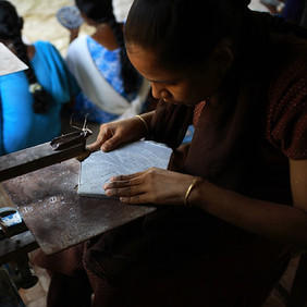 """Image credit: """"Helping develop skills""""by United Nations Industrial Development Organization"""