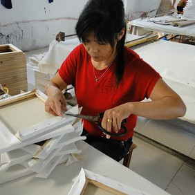 """Image credit: """"Factory China Shanghai - Frames for Canvas""""byWageIndicator.org - Pictures from Paulien Osse"""