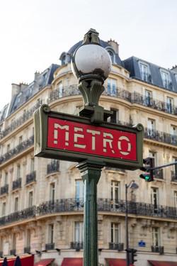 OH YES unplug Paris metro