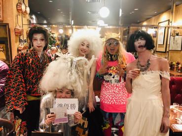 渋谷ハロウィン準優勝いたしました!