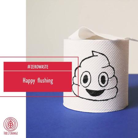 Happy flushing