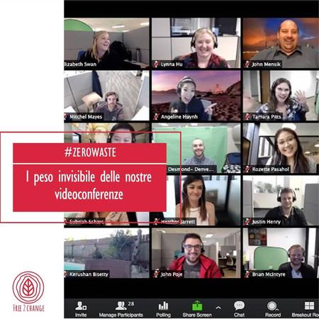 Il peso invisibile delle nostre videoconferenze