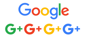 [CITYPNG.COM]Google Logo With Multicolore G Plus Letter Icon - 7679x3477.png