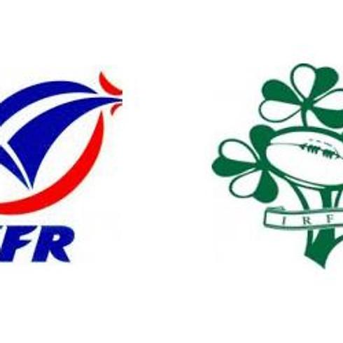 6 Nations France v Ireland - Live