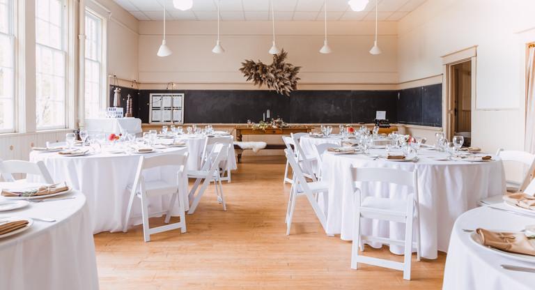 Quaker Hill Schoolhouse reception