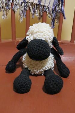 crochet lamb 3