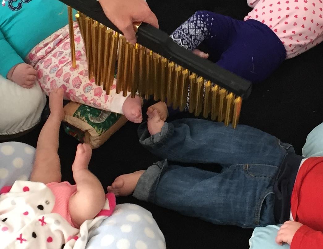 baby feet chimes