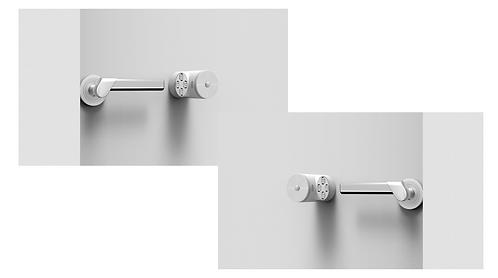 59S® Door Handle Steriliser - Twin pack