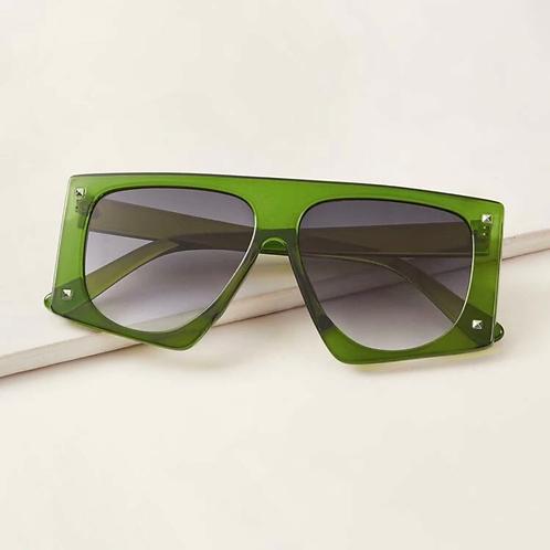 Green Flat Top Sunnies