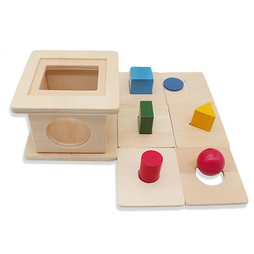 Montessori 6-in-1 Shapes Matching Box
