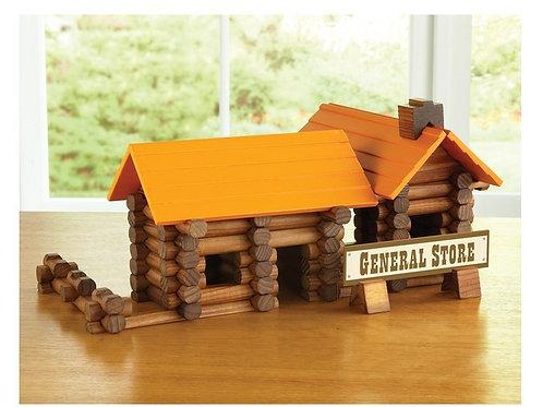 (Treehaus) 165pcs Lumber Jax Log Set - General Store