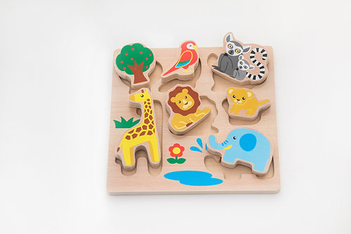 Early Childhood Educational Toy Shape Panel Puzzle