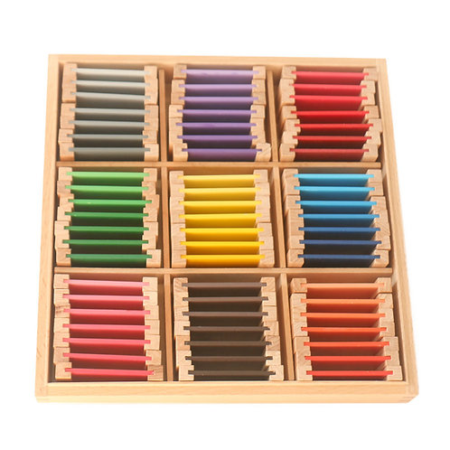 Montessori Early Learning Sensorial Colour Box