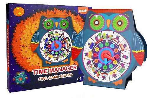 UCMD Time Manager Owl Game Board
