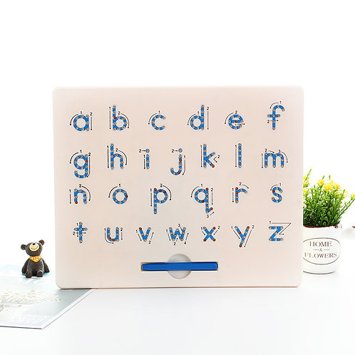 Magnetic Lower Case Alphabet Letter Tracing Board